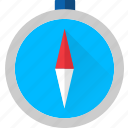 compass, directions, navigation, north, south icon