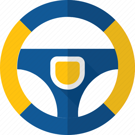 auto, control, driving, equipment, steering, wheel icon