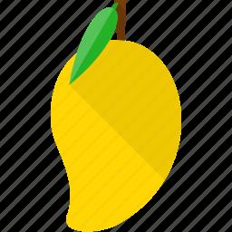 fresh, fruit, fruits, king, leaf, mango icon