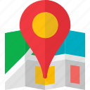 map, pin, places, place, location, road, gps