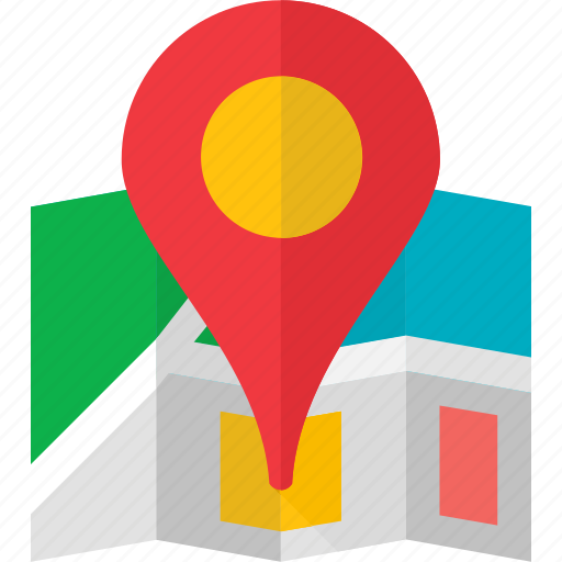 gps, location, map, pin, place, places, road icon