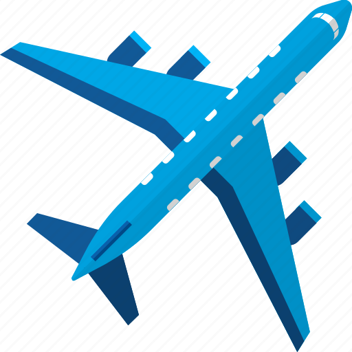 air, aircraft, airplane, flight, plane, transport, transportation icon