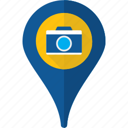 gps, journey, map, place, pointer, sightseeing, travel icon