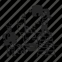 problem, solving, puzzle, idea, teamwork, problem solving icon