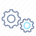 cog, cogwheel, configuration, gear, process, setting icon