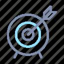accomplishment, achievement, arrow, ethic, target, work