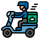 delivery, food, meal, order, food delivery icon