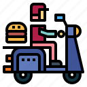delivery, fast, fast food, food, transportation