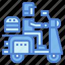 delivery, fast food, food, transportation