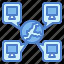 cloud, drive, global, globe, internet, storage