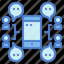 bubble, chat, conversation, group, meeting, message, talk