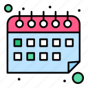 calendar, schedule, time, work