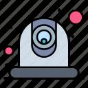 camera, communication, video, webcam