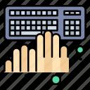 coding, keyboard, programming, typing, working