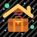 job, home, work, case, briefcase