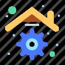 building, home, house, management