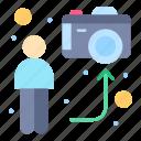 blogger, camera, live, man, online, social