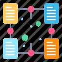 document, file, folder, online, sharing icon