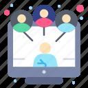 communication, meeting, online, sharing