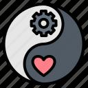 balance, life, work, yang, yin