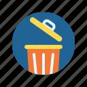 bin, business, office, trash, work