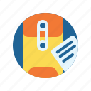 business, envelope, office, work icon