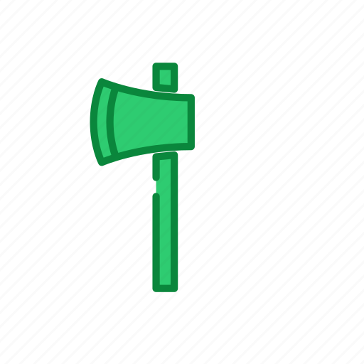 ax, filled, line, tool, work icon