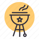 barbecue, family, grill, holiday, sausage, vacation, weekend icon