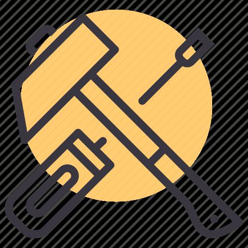 hammer, labor, labour, mechanic, repair, tools icon