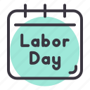 day, labor, may, worker icon