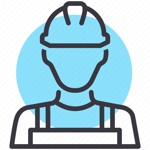 avatar, character, construction, labor, labour, mechanic, worker icon