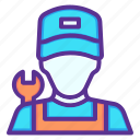 avatar, labor, labour, mechanic icon