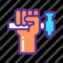 hammer, rights, strength, unity