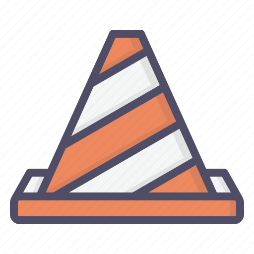 cone, construction, labor, work icon