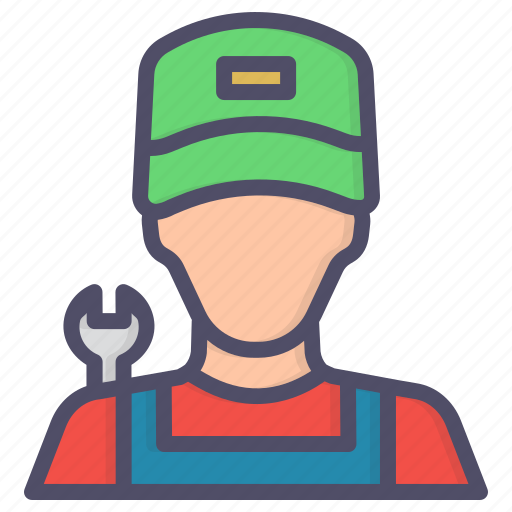 Avatar, character, labor, mechanic icon - Download on Iconfinder