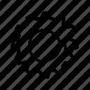 cog, day, gear, labor, labour, settings icon