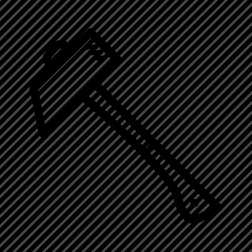 hammer, mechanic, repair, tools icon
