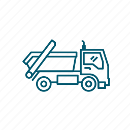 container, transport, truck, vehicle icon