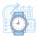 deadline, time management, time, schedule icon