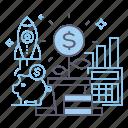 finance, investments, profit, savings icon