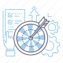 goals, target, aim, targeting icon