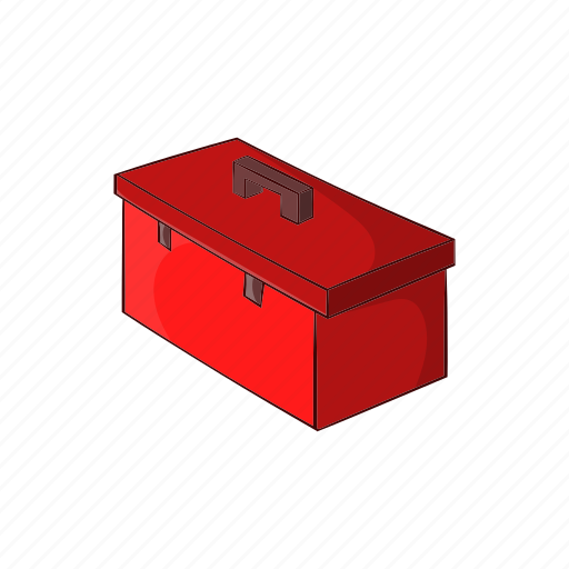 cartoon, construction, container, repair, sign, suitcase, tool icon