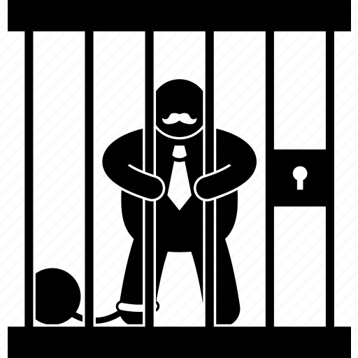 boss, businessman, employer, jail, lockup, prison, prisoner icon