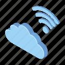 cloud, data, service, storage icon