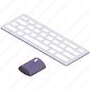 computer, hardware, keyboard and mouse, programming icon
