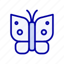 butterfly, freedom, insect, wings icon