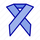 aids, health, ribbon, solidarity icon