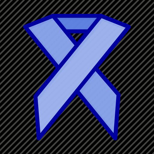 Aids, health, ribbon, solidarity icon