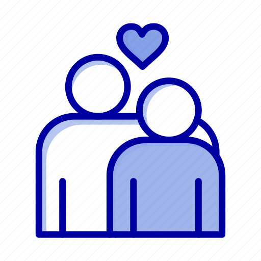 couple, heart, love, marriage icon