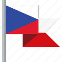 czech republic, flag icon
